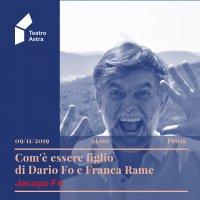 Com'è essere figlio di Dario Fo e Franca Rame - con Jacopo Fo