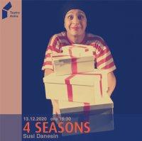 4 SEASONS - Silent Susi Featuring Antonio Vivaldi (ANNULLATO CAUSA COVID) - con Susi Danesin
